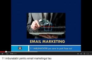 11 imbunatatiri pentru email marketing