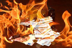 lipsa de bani
